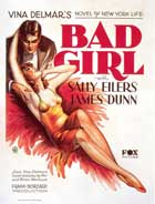 Bad Girl - 11 x 17 Movie Poster - Style C