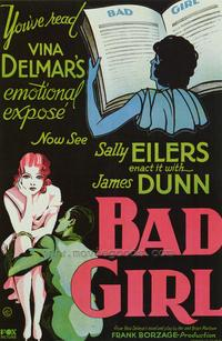 Bad Girl - 43 x 62 Movie Poster - Bus Shelter Style A