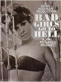 Bad Girls Go to Hell - 43 x 62 Movie Poster - Bus Shelter Style A