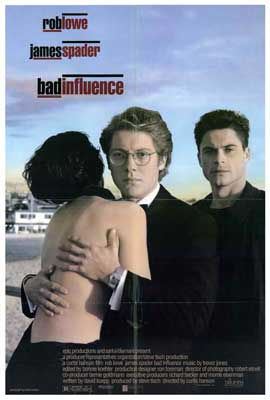 Bad Influence - 27 x 40 Movie Poster - Style A