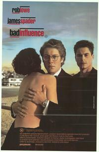 Bad Influence - 27 x 40 Movie Poster - Australian Style A