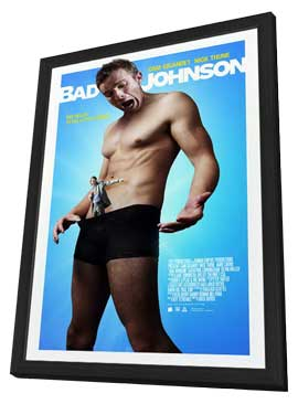 Bad Johnson - 11 x 17 Movie Poster - Style A - in Deluxe Wood Frame