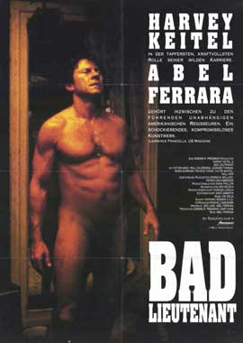 Bad Lieutenant - 11 x 17 Movie Poster - German Style A