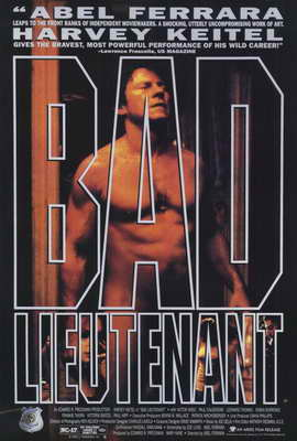Bad Lieutenant - 27 x 40 Movie Poster - Style B