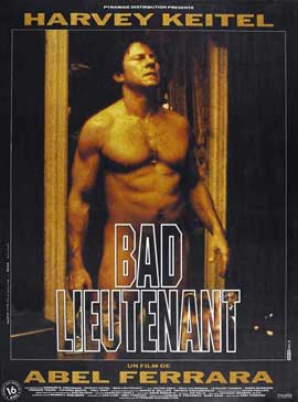 Bad Lieutenant - 27 x 40 Movie Poster - French Style A