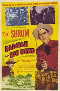 Bad Man from Big Bend - 11 x 17 Movie Poster - Style A