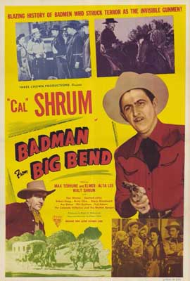 Bad Man from Big Bend - 27 x 40 Movie Poster - Style A