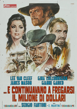 Bad Man's River - 11 x 17 Movie Poster - Italian Style A