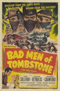 Bad Men of Tombstone - 27 x 40 Movie Poster - Style A