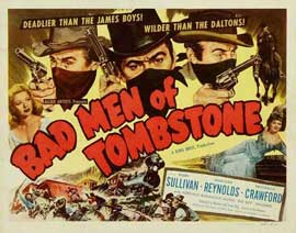 Bad Men of Tombstone - 27 x 40 Movie Poster - Style B