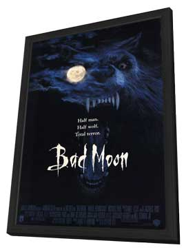 Bad Moon - 11 x 17 Movie Poster - Style A - in Deluxe Wood Frame
