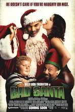 Bad Santa - 27 x 40 Movie Poster - Style B