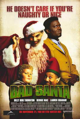 Bad Santa - 11 x 17 Movie Poster - Style A