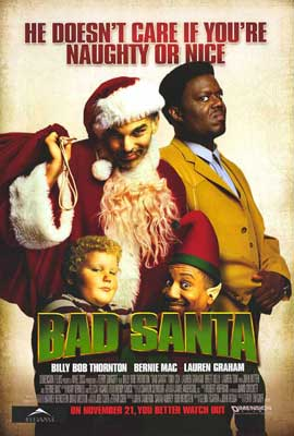 Bad Santa - 27 x 40 Movie Poster - Style A