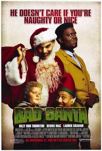 Bad Santa - 43 x 62 Movie Poster - Bus Shelter Style A