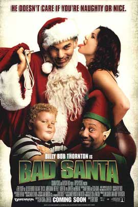 Bad Santa - 11 x 17 Movie Poster - Style B