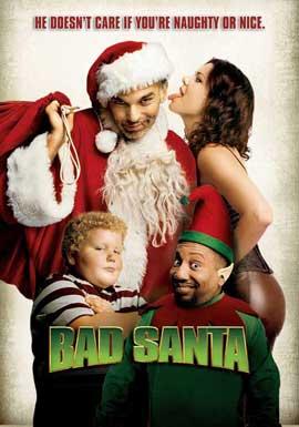 Bad Santa - 27 x 40 Movie Poster - Style E