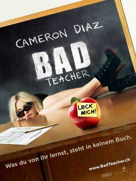 Bad Teacher - 11 x 17 Movie Poster - Swiss Style A