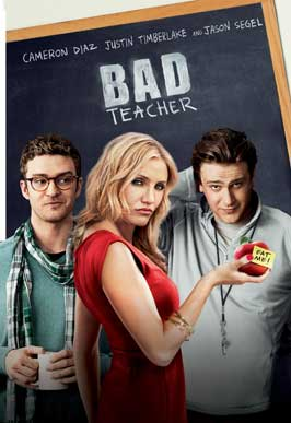 Bad Teacher - 43 x 62 Movie Poster - Bus Shelter Style A