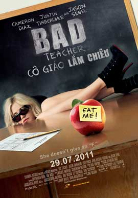 Bad Teacher - 27 x 40 Movie Poster - Vietnamese Style A