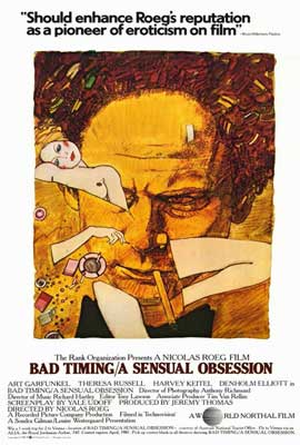 Bad Timing - 27 x 40 Movie Poster - Style A