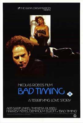 Bad Timing - 27 x 40 Movie Poster - Style B