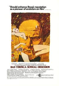 Bad Timing - 43 x 62 Movie Poster - Bus Shelter Style A