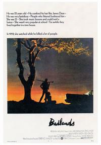 Badlands - 43 x 62 Movie Poster - Bus Shelter Style A