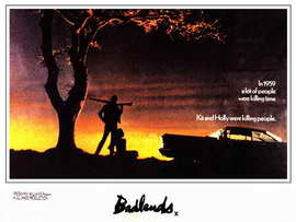 Badlands - 11 x 17 Movie Poster - Style B