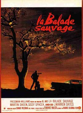 Badlands - 11 x 17 Movie Poster - French Style A
