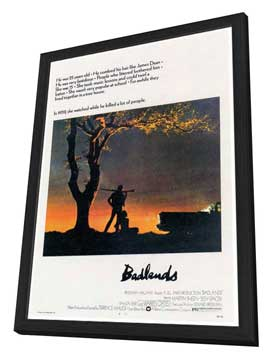 Badlands - 27 x 40 Movie Poster - Style A - in Deluxe Wood Frame