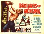 Badlands of Montana - 27 x 40 Movie Poster - Style B