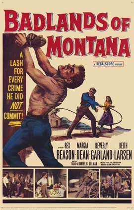 Badlands of Montana - 11 x 17 Movie Poster - Style A