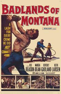 Badlands of Montana - 27 x 40 Movie Poster - Style A