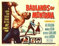 Badlands of Montana - 11 x 17 Movie Poster - Style B