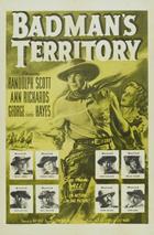 Badman's Territory - 27 x 40 Movie Poster - Style B