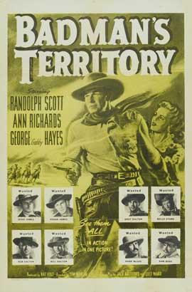 Badman's Territory - 11 x 17 Movie Poster - Style B