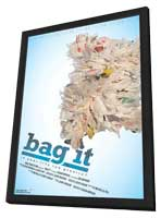 Bag It - 11 x 17 Movie Poster - Style A - in Deluxe Wood Frame