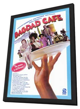 Bagdad Cafe - 11 x 17 Movie Poster - Style A - in Deluxe Wood Frame
