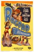 Bagdad - 11 x 17 Movie Poster - Danish Style A