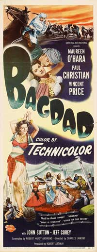 Bagdad - 14 x 36 Movie Poster - Insert Style D