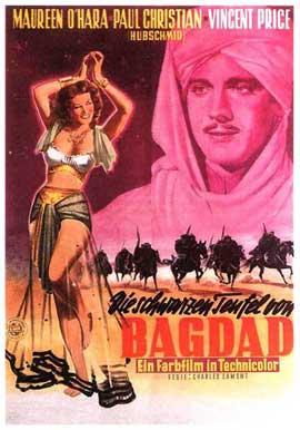 Bagdad - 11 x 17 Movie Poster - German Style A
