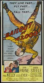 Bail Out at 43,000 - 14 x 36 Movie Poster - Insert Style A