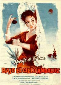 Bajo el cielo Andaluz - 11 x 17 Movie Poster - Spanish Style A