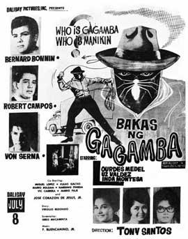 Bakas ng gagamba - 11 x 17 Movie Poster - Spanish Style A