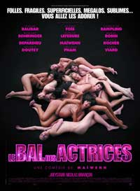 Bal des actrices, Le - 43 x 62 Movie Poster - Bus Shelter Style A
