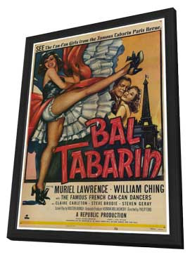Bal Tabarin - 27 x 40 Movie Poster - Style A - in Deluxe Wood Frame