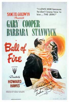 Ball of Fire - 27 x 40 Movie Poster - Style A