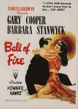 Ball of Fire - 11 x 17 Movie Poster - Style B