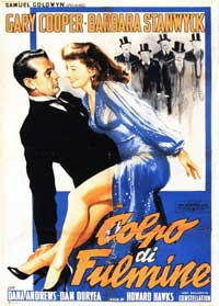 Ball of Fire - 11 x 17 Movie Poster - Spanish Style D